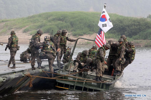 US, South Korea postpone joint military exercises over virus