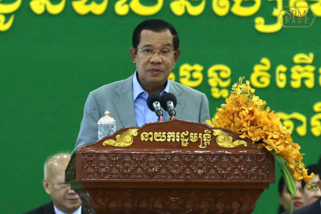 Hun Sen says Cambodians are Responsible for their Own Health and Safety amid COVID-19 Outbreak