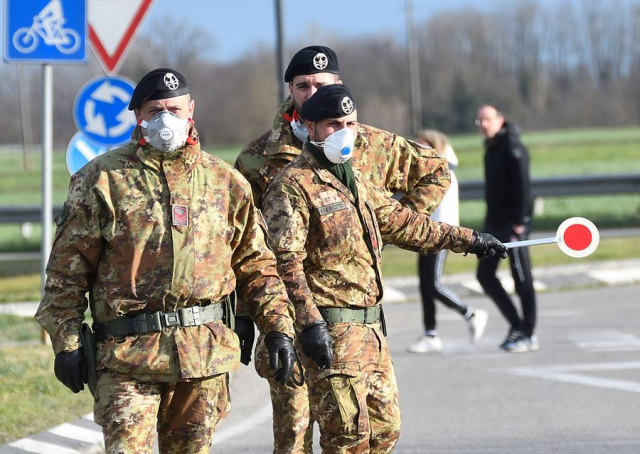 Italian Army Chief of Staff tests positive for coronavirus: report