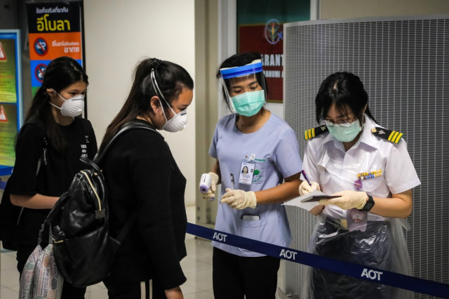 Thai immigration officers at Bangkok airport diagnosed with COVID-19