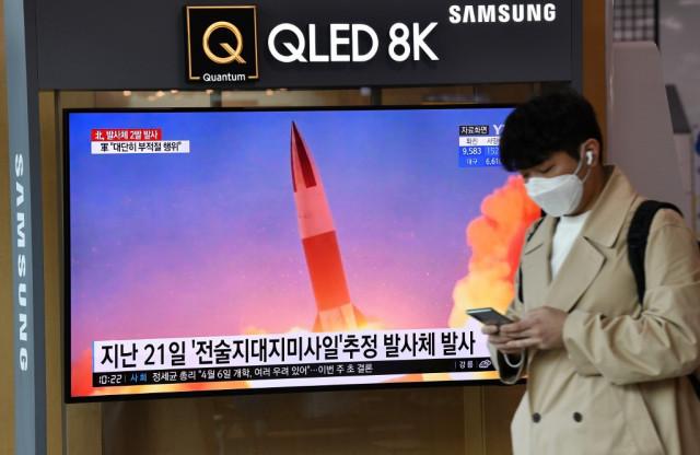 North Korea fires two 'ballistic missiles' into sea: Seoul