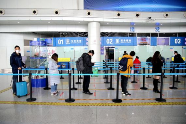 Domestic flights resumed in Hubei Province except Wuhan