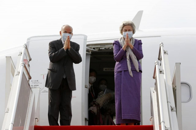 King and Queen Mother Head to China for Medical Checkups