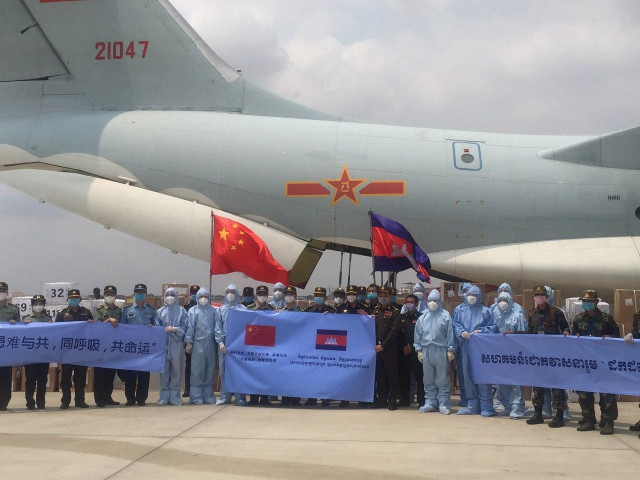 China Donate Two Tons of Medical Equipment to Cambodia