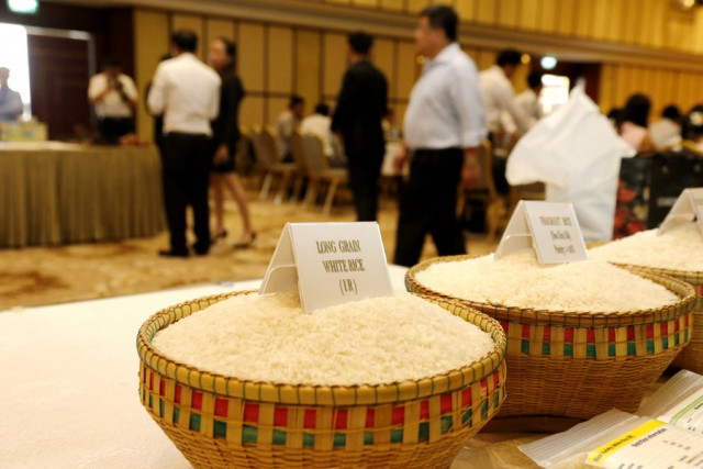 Cambodia's rice export to China up 35 pct in Q1