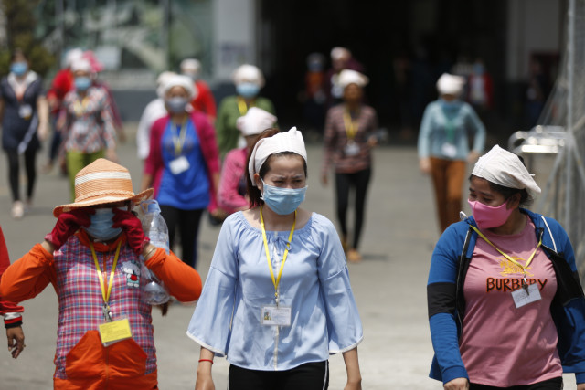 Garment and Other Workers Going on Holiday Must Get into Quarantine When They Return