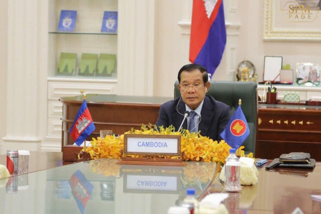 Hun Sen Calls for Greater Integration at ASEAN Summit on COVID-19