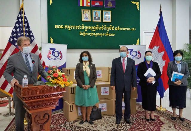 United States Donates $1.5 Million to Cambodia in COVID-19 Assistance