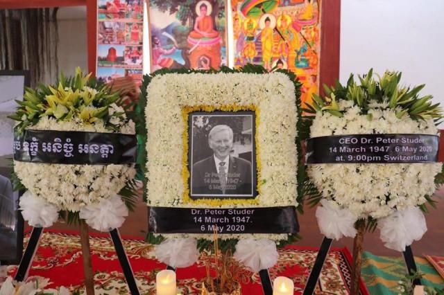 Dr. Peter Studer, director of the Kantha Bopha Children Hospitals, Passes Away