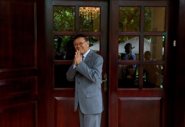 Kem Sokha Appeals to Foreign Countries to Continue Supporting Cambodia's Development