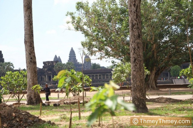 "The Angkor Archeological Park Is Undergoing a ""Spring Cleaning"" Thanks to COVID-19"