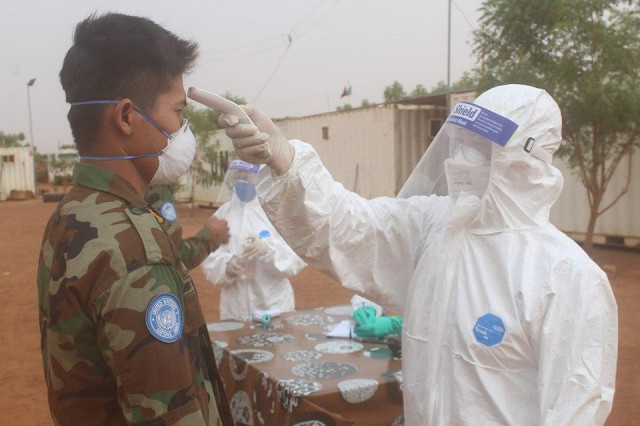Four Cambodian Peacekeepers Test Positive for COVID-19 in Mali