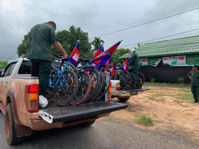 Koh Kong Authorities Detain Environmental Activists on Bike Ride