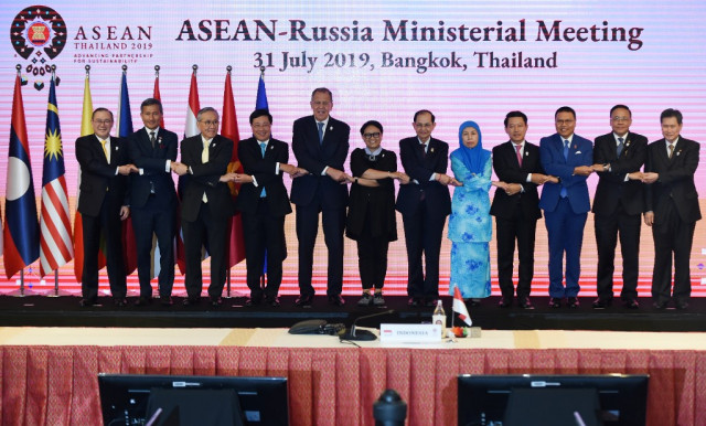 Foreign Ministers from ASEAN and Russia to Discuss COVID-19 Cooperation
