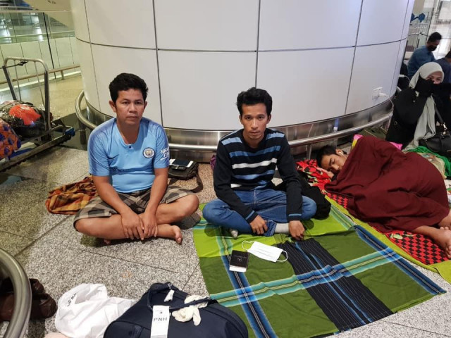 Cambodians Stranded in Malaysia Finally Able to Fly Home