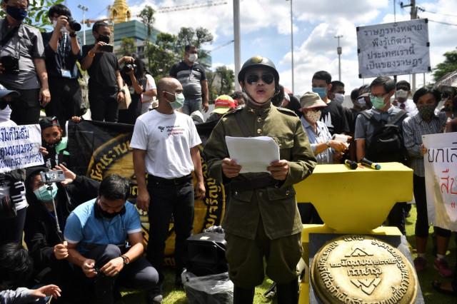 Pro-democracy protests mark anniversary of Thai revolution