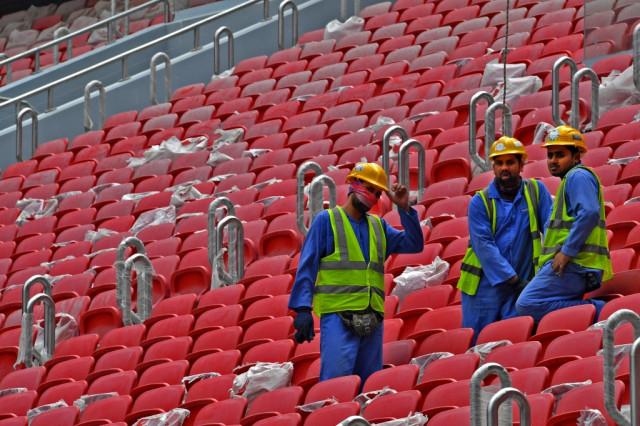 Qatar confirms first virus death among World Cup workforce