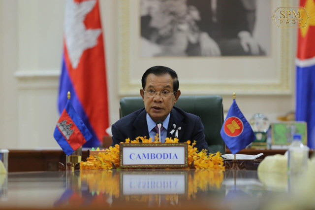 Cambodian PM calls for collective responses, solidarity to fight COVID-19 at ASEAN summit