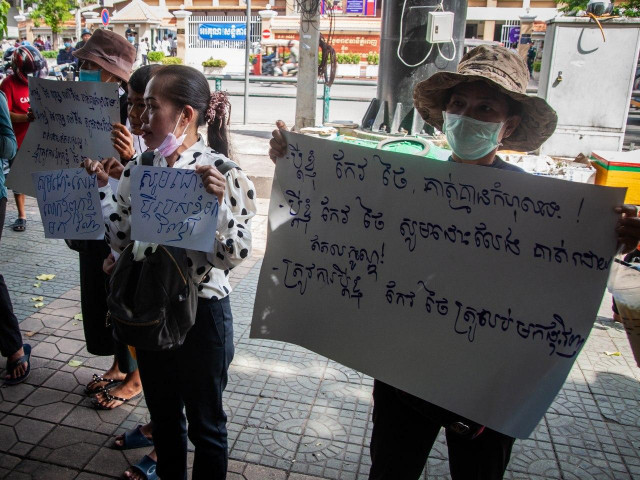 Families of Detained CNRP Members Tell of Harassment, Calling for Government and International Intervention