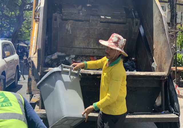 Phnom Penh's Waste Back to Pre-Pandemic Levels