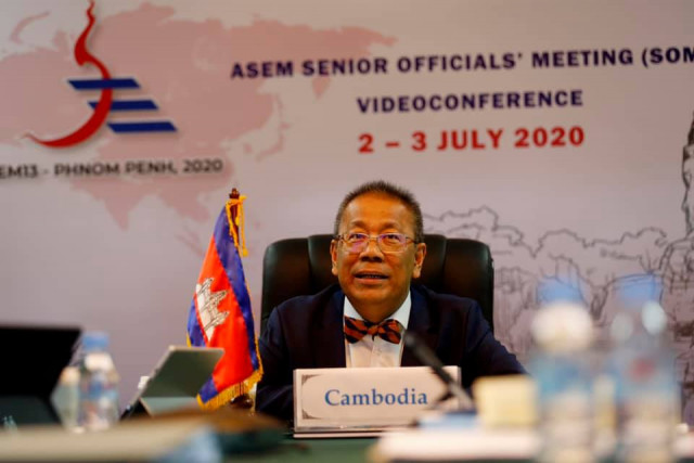 Cambodia Announces Postponement of ASEM to Mid 2021