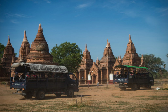 Looters target Myanmar temple treasures in tourist slump
