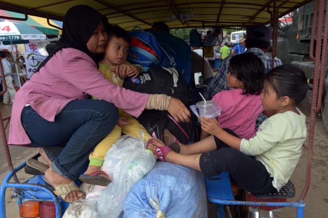 Thai Authorities Detain 88 Cambodians Attempting to Cross Border Illegally