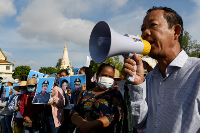 Well-known Cambodian Union Leader Rong Chhun Is Charged in Court over Comments about Border