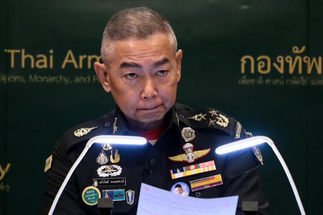 Thai army chief says 'hatred of nation' bigger threat than virus