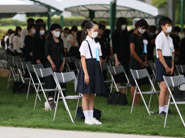 Japan marks 75th anniversary of Hiroshima atomic bombing