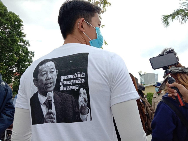 Rong Chhun's Supporters Ask Embassies and International Organizations' Help for his Release