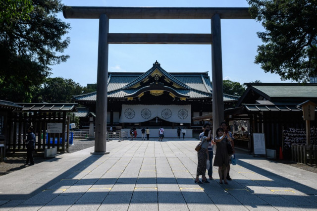 Japanese ministers visit Yasukuni Shrine, first since 2016
