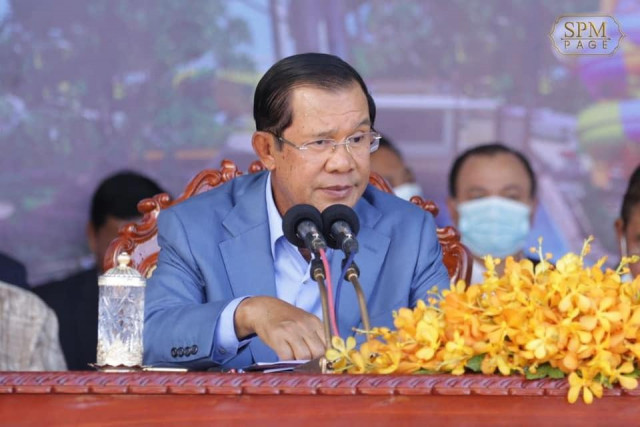 Hun Sen Says Anyone Criticizing the Government's Handling of Border Issues will be Arrested