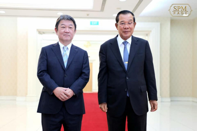 Cambodia Agrees to Resume Flights and Physical Communication with Japan