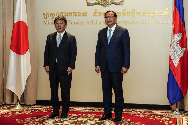 Cambodia and Japan Foreign Ministers Agree to Bolster Bilateral Ties
