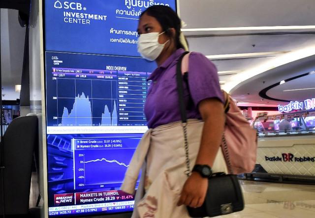 Asian markets hurt by fresh tensions; eyes on Powell speech