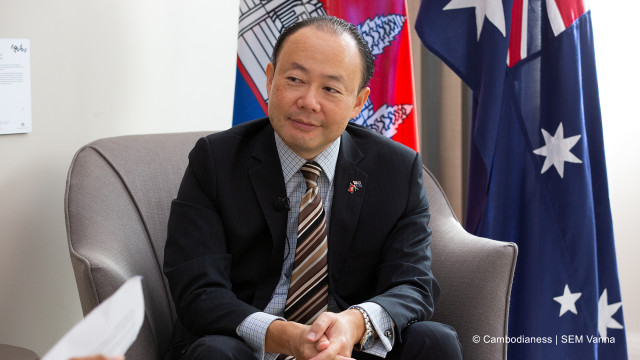 Australia Plans to Keep on Supporting Cambodia's Post Covid-19 Strategy