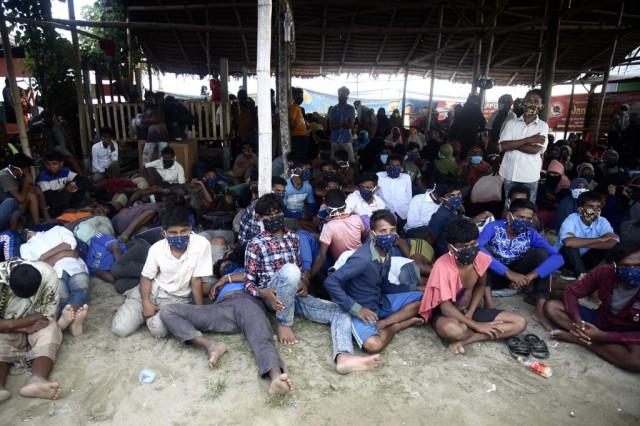 Nearly 300 Rohingya migrants come ashore in Indonesia