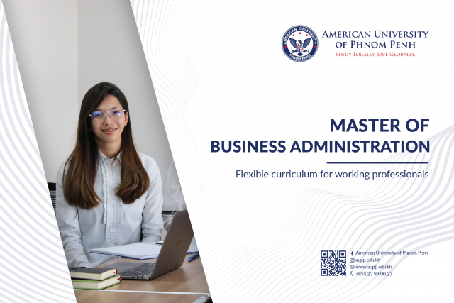 Study the Master of Business Administration at American University of Phnom Penh (AUPP)