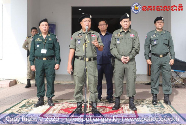 National Police to Heighten Security of Diplomats and Officials