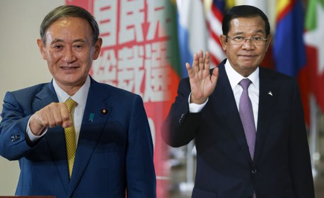 Hun Sen Says He Looks Forward to Working Closely with Japan's New Prime Minister