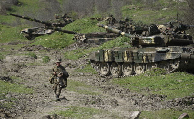 Child, woman among casualties in Nagorny Karabakh heavy fighting