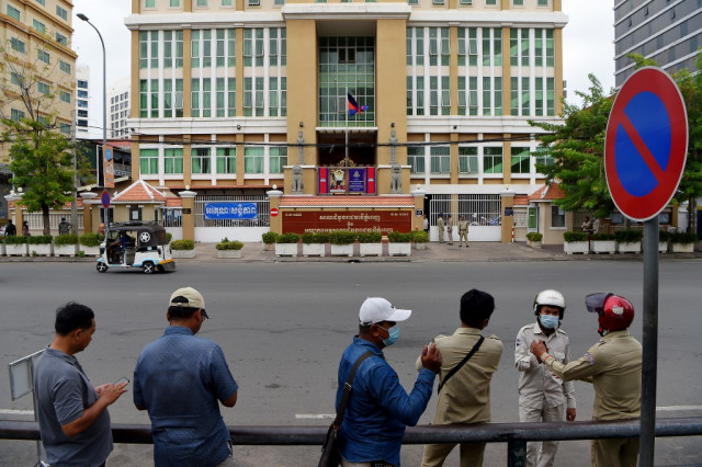 NGOs Report on the Cambodian Authorities' Use of the Courts to Silence People