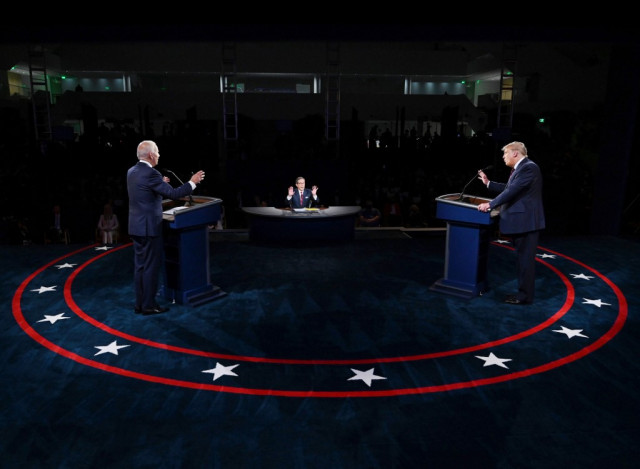 What happens if a US presidential candidate exits the race?
