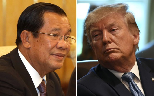 Prime Minister Hun Sen wishes U.S. President Trump speedy recovery from COVID-19