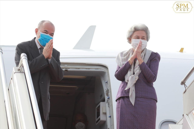 King and Queen Mother Head to China for Medical Check-up