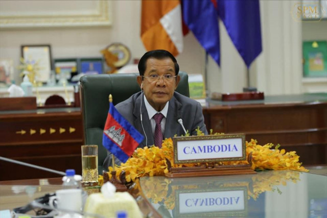 Prime Minister Hun Sen Says Cambodia Will Take Part in Addressing Climate Change Worldwide
