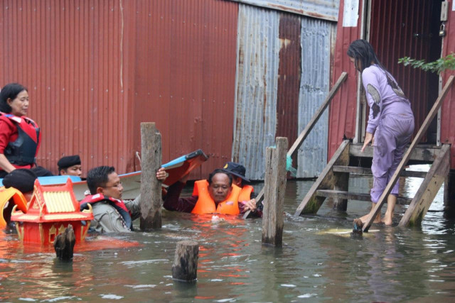 PM Hun Sen to Visit Flooding Victims in Banteay Meanchey