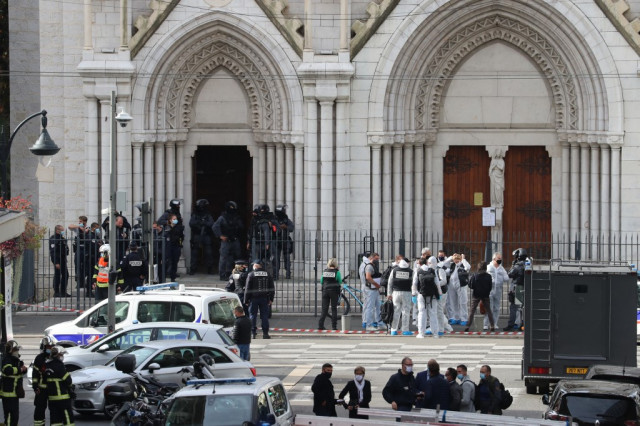 France on 'emergency' footing after knifeman kills 3 at church