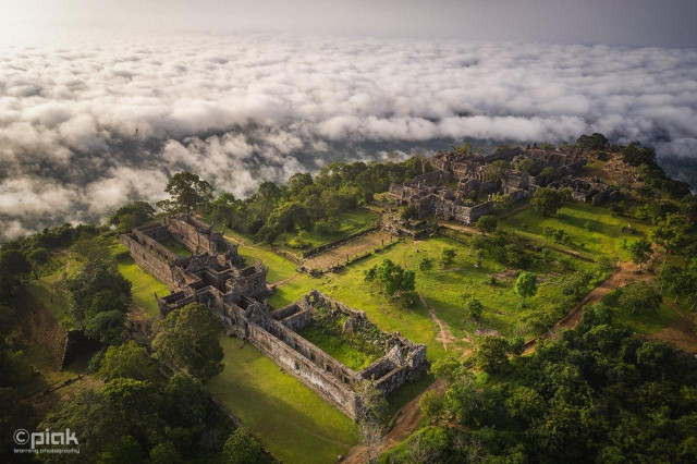 Preah Vihear Temple: Watching over Cambodia from the Clouds in the Sky